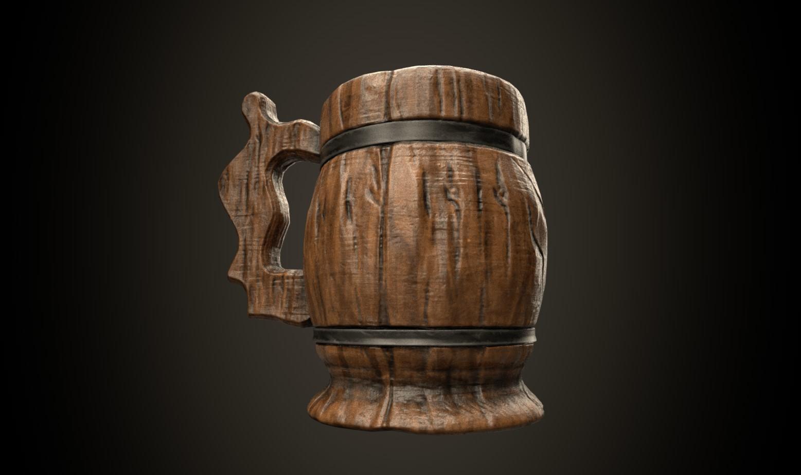 Beer Mug stylized