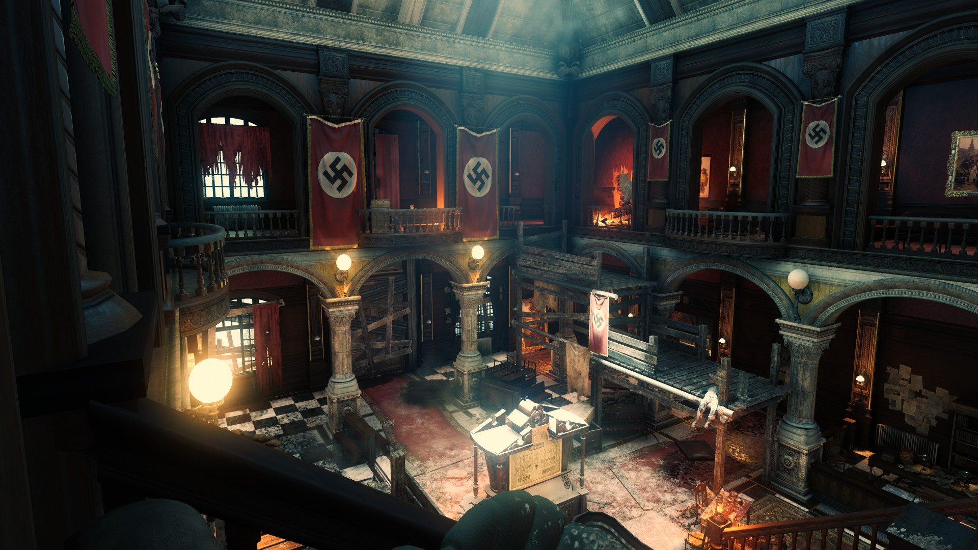Artstation Das Herrenhaus Fan Made Zombie Map Call Of Duty