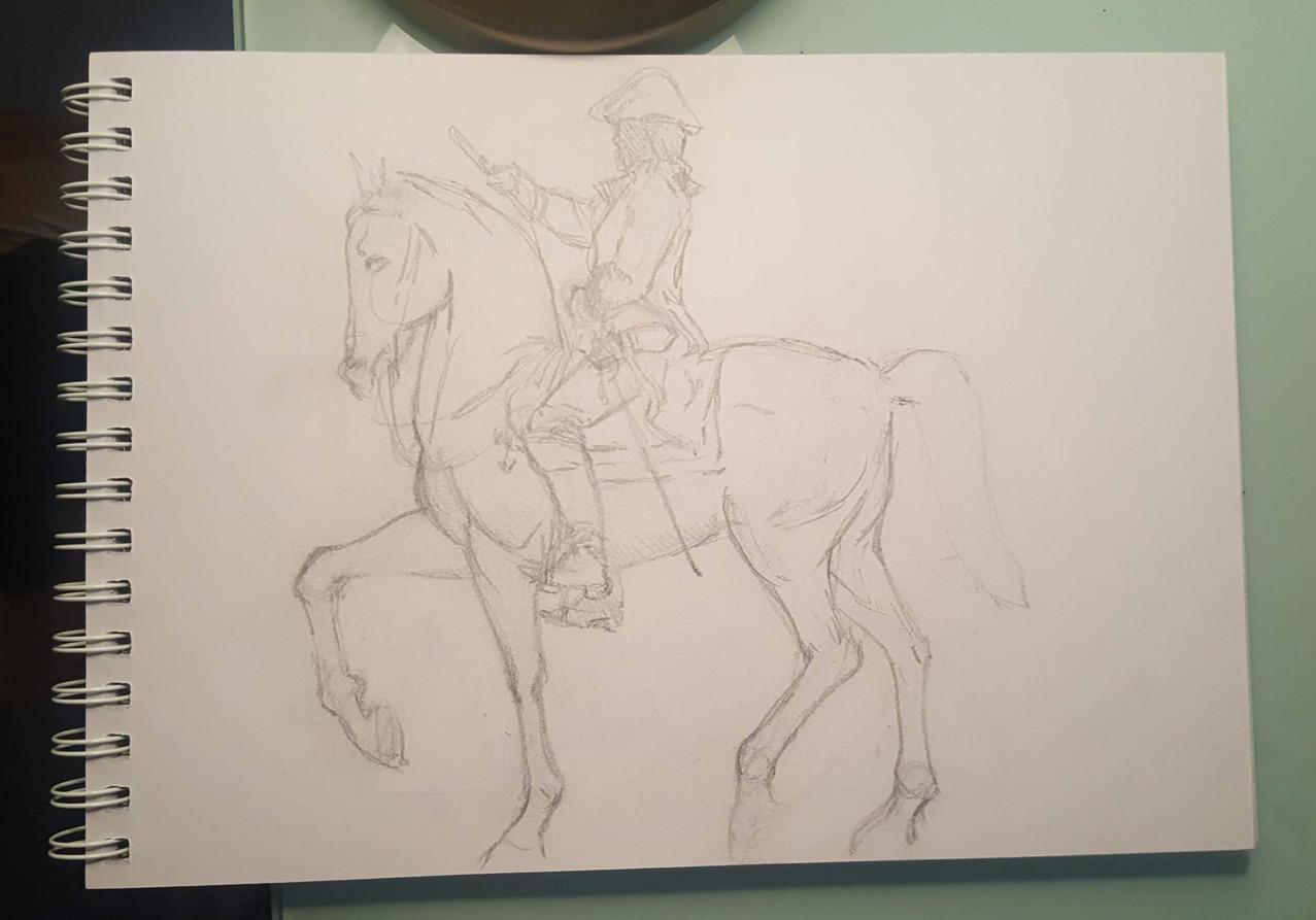 West clendinning horsey sketch