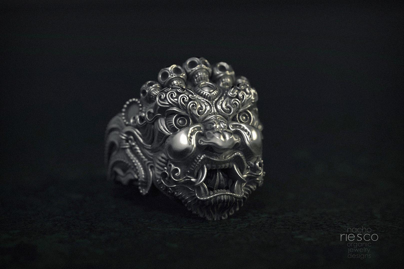 Nacho riesco gostanza anillo mascara tibetana 3