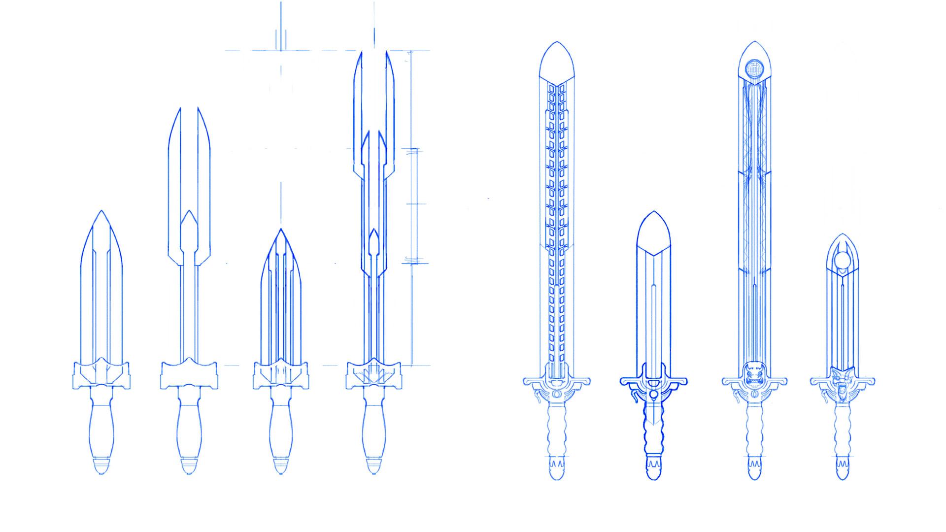 Jeff zugale sword design 02