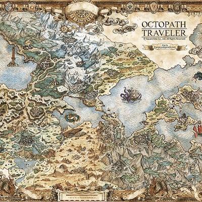 Francesca baerald fbaerald squareenix octopathtraveler orsterra map