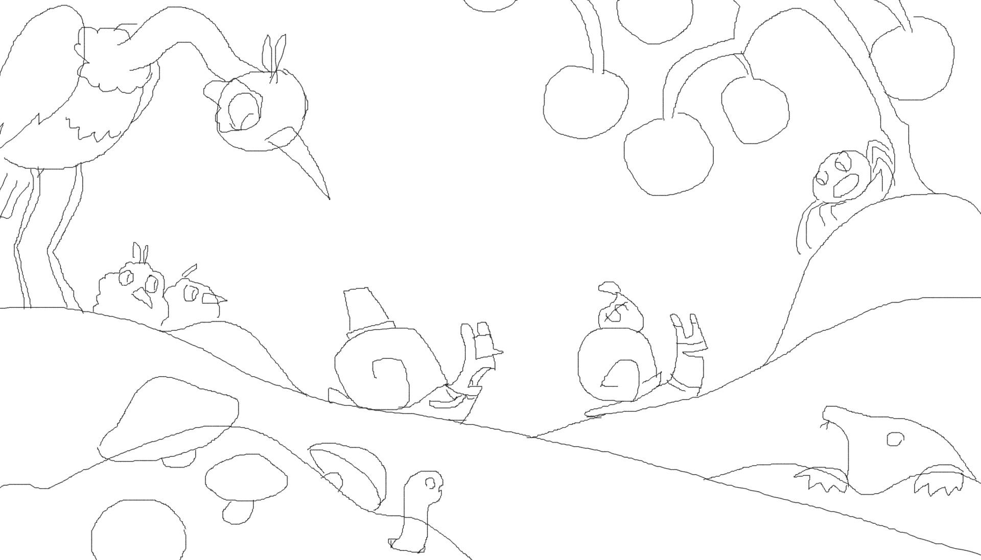 Nathan malone snails sketch