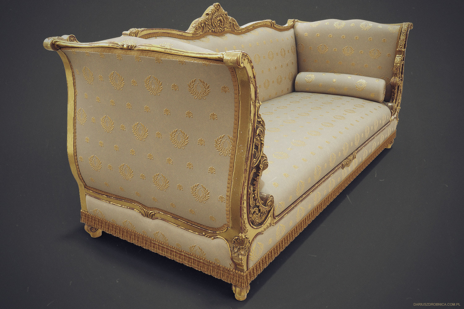 Admirable Dariusz Drobnica The Order 1886 Ornate Sofa Gmtry Best Dining Table And Chair Ideas Images Gmtryco