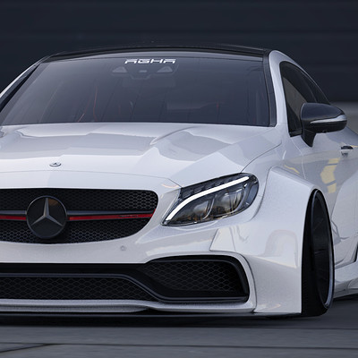 Wassim el agha c63 ass front