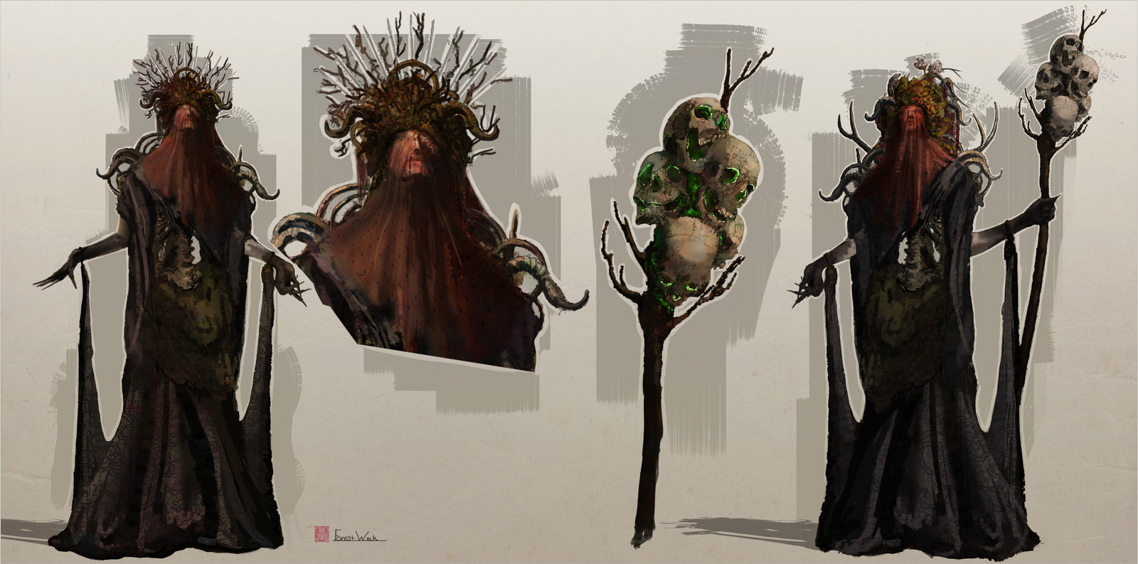 Forest Witch concept