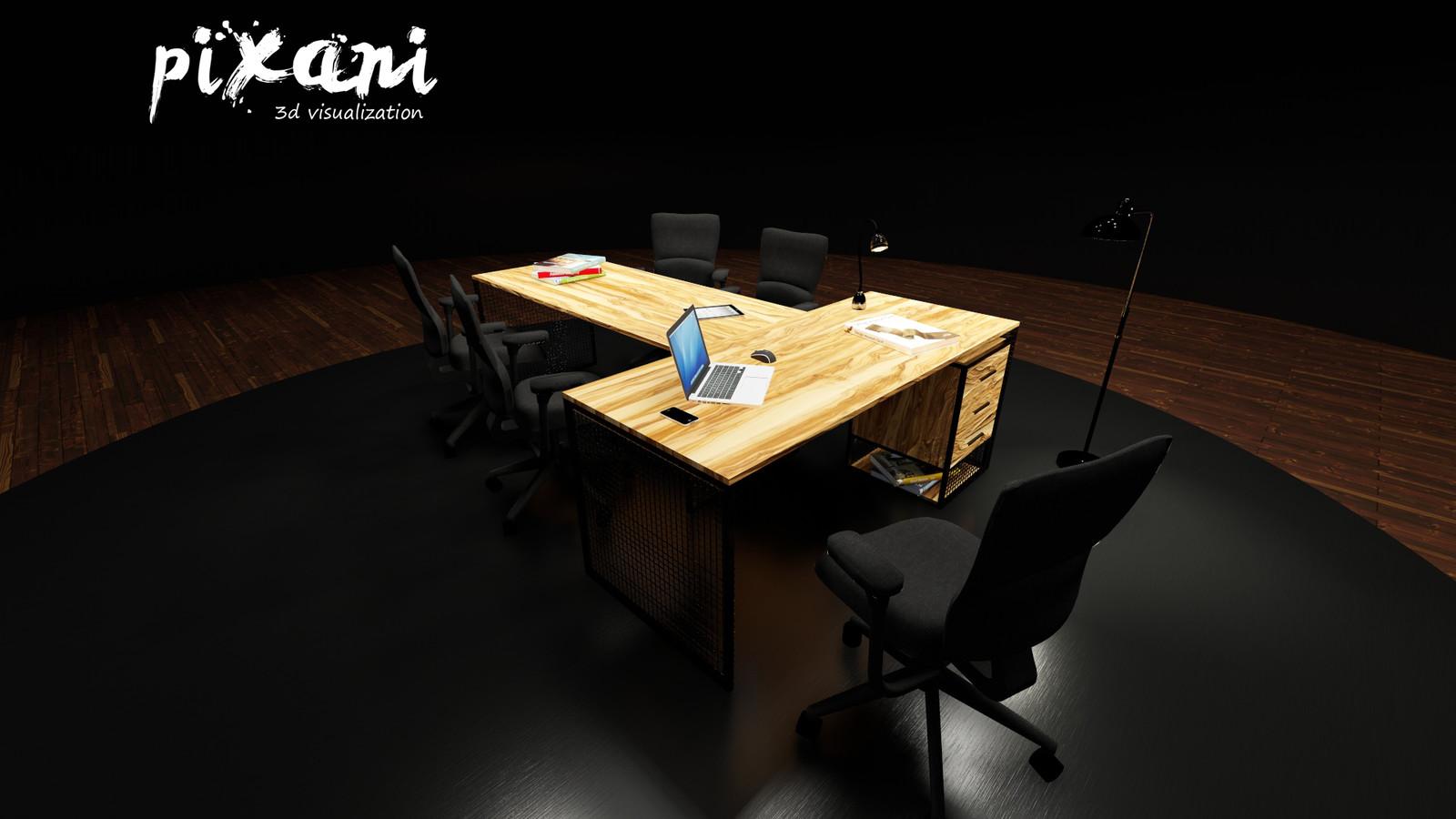 T-DESK gx      T-MASA gx  Furniture Designed by Serdar Çakmak designed for Limon Souvenir Shop  produced at Rival Reklam  P I X A N I #pixani #pixanirenders