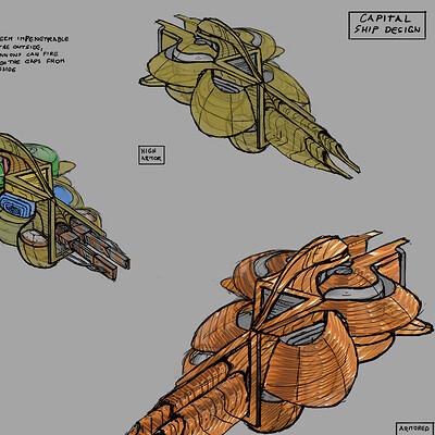 Attila gerenyi capital ship structure