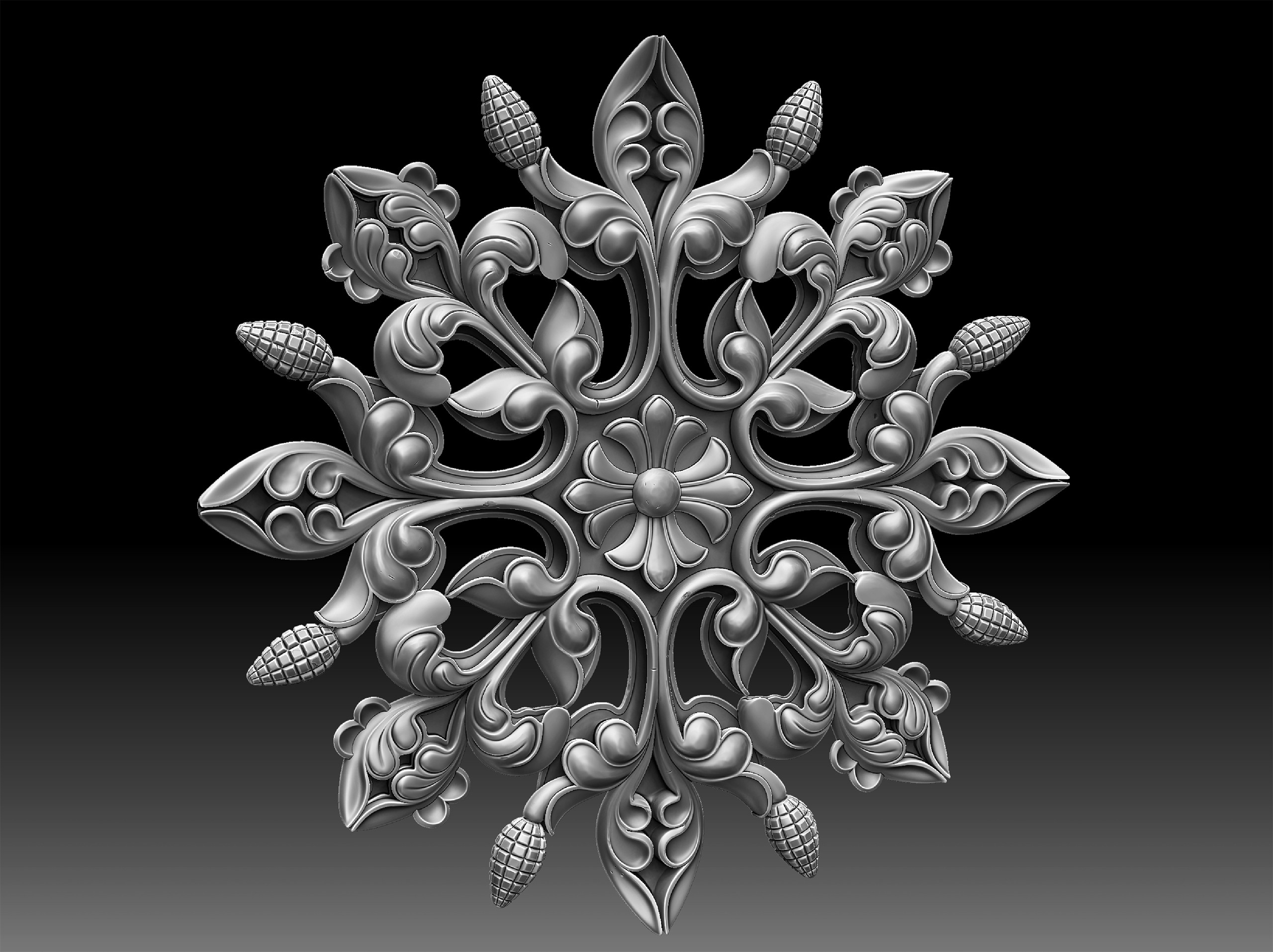 Dynameshed inside Zbrush for baking plus little scuff here and there.