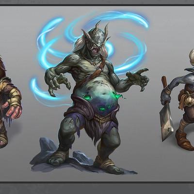 Egil thompson creature illustrations