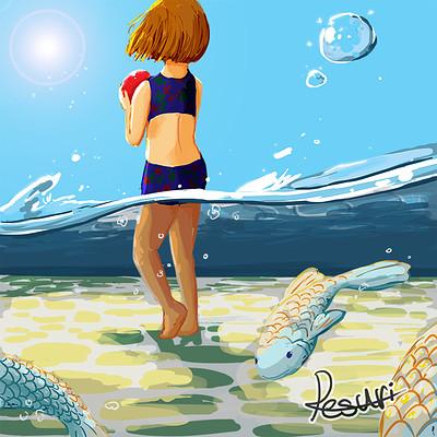 Leslie nadau summer fish