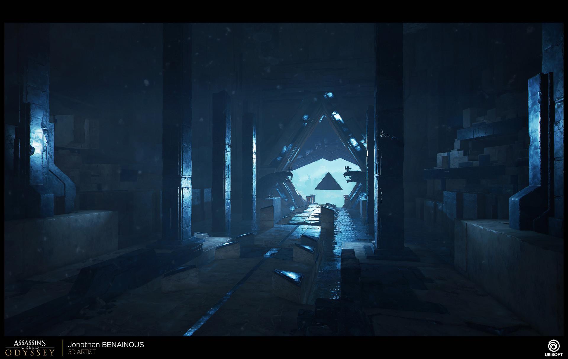 Artstation Assassin S Creed Odyssey Atlantis Environment Art