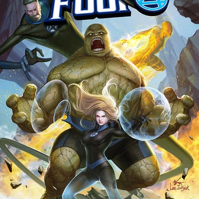 Inhyuk lee fantastic four 1
