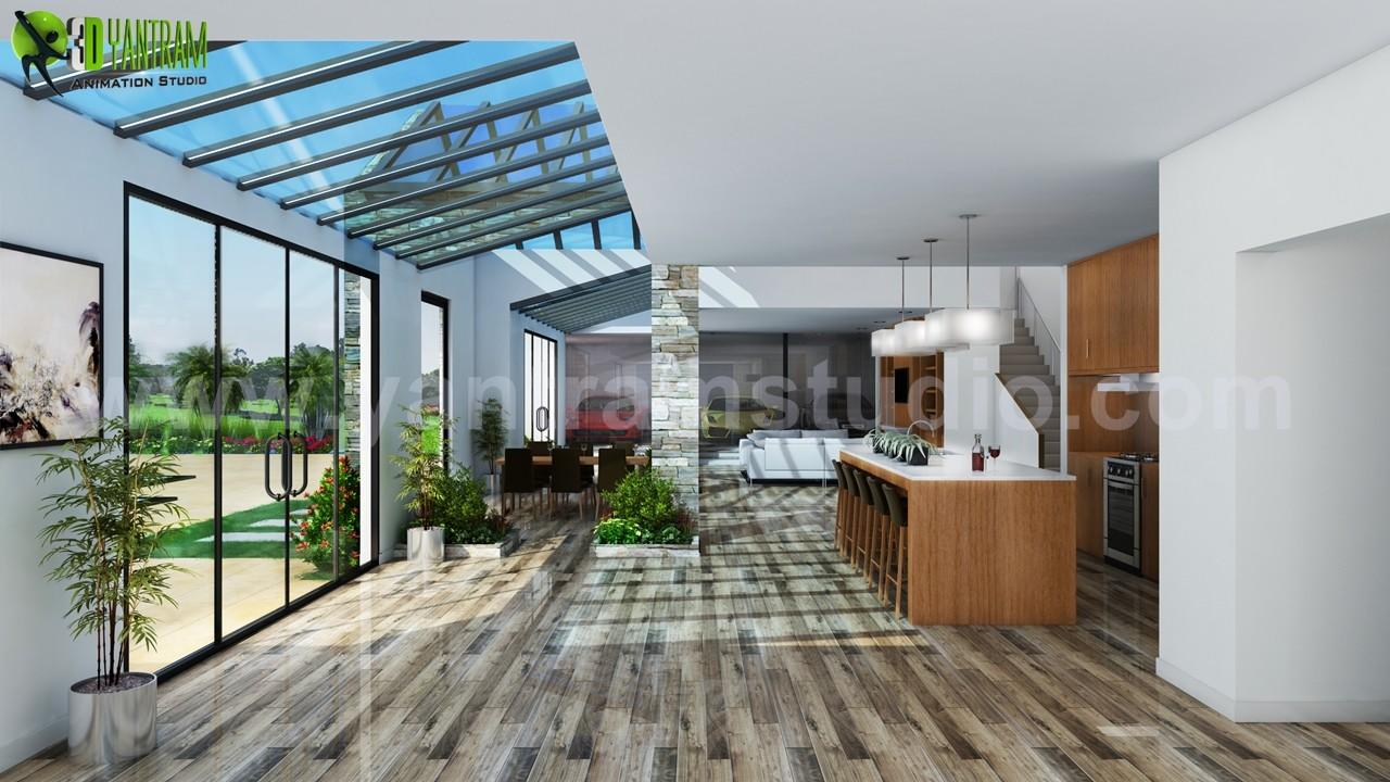 Interior House Design Ideas By Yantram 3D Interior Designers   Atlanta, USA