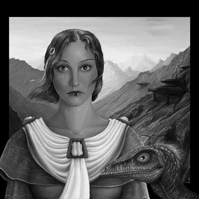 Pawel hudeczek lady with an ermine p by daobiwan