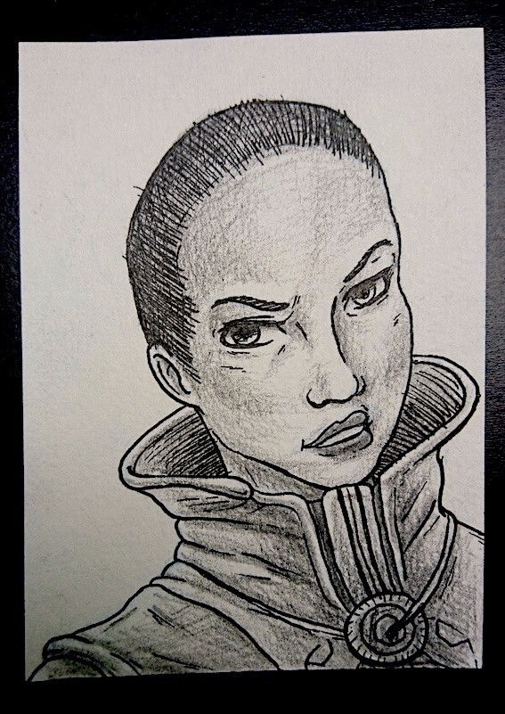 Sketch of Ikora Rey