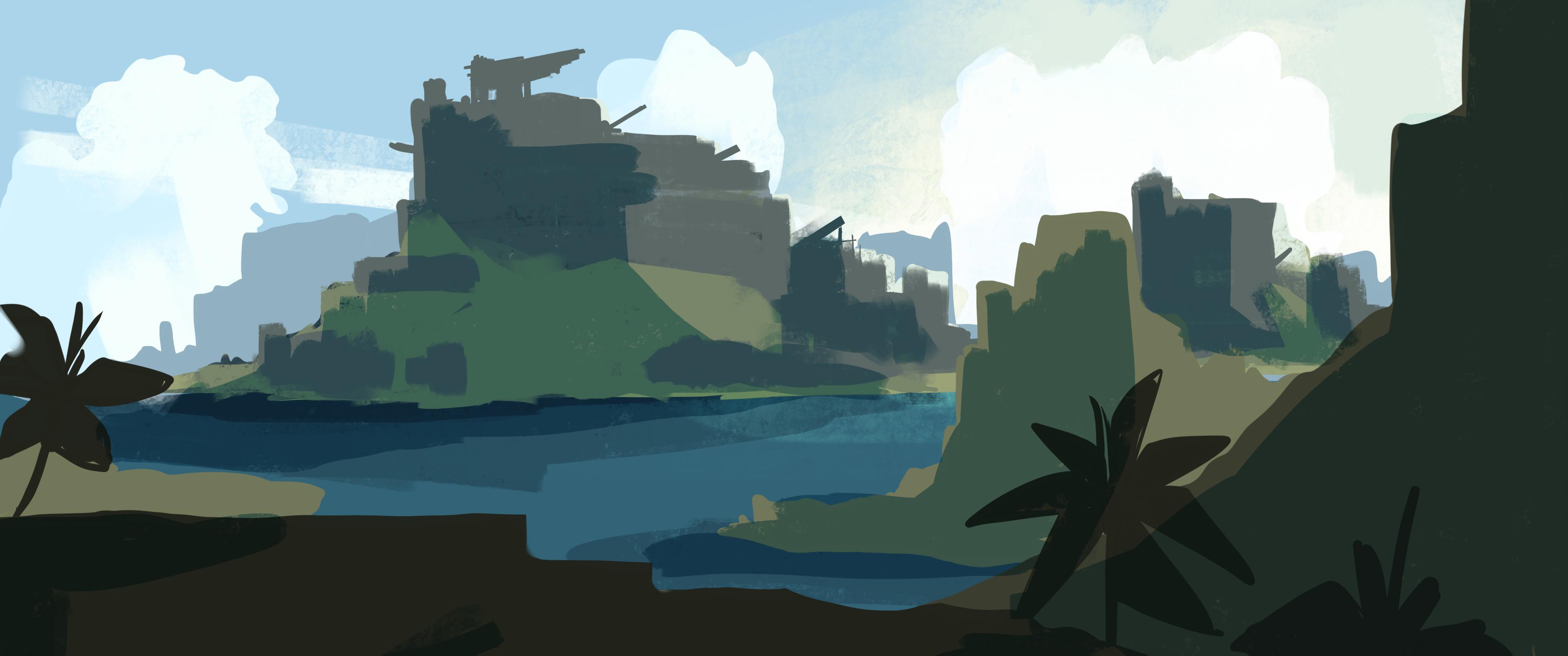 Fort Island - Colour Blocking