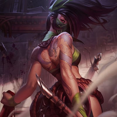 Jessica oyhenart akali splash final lg