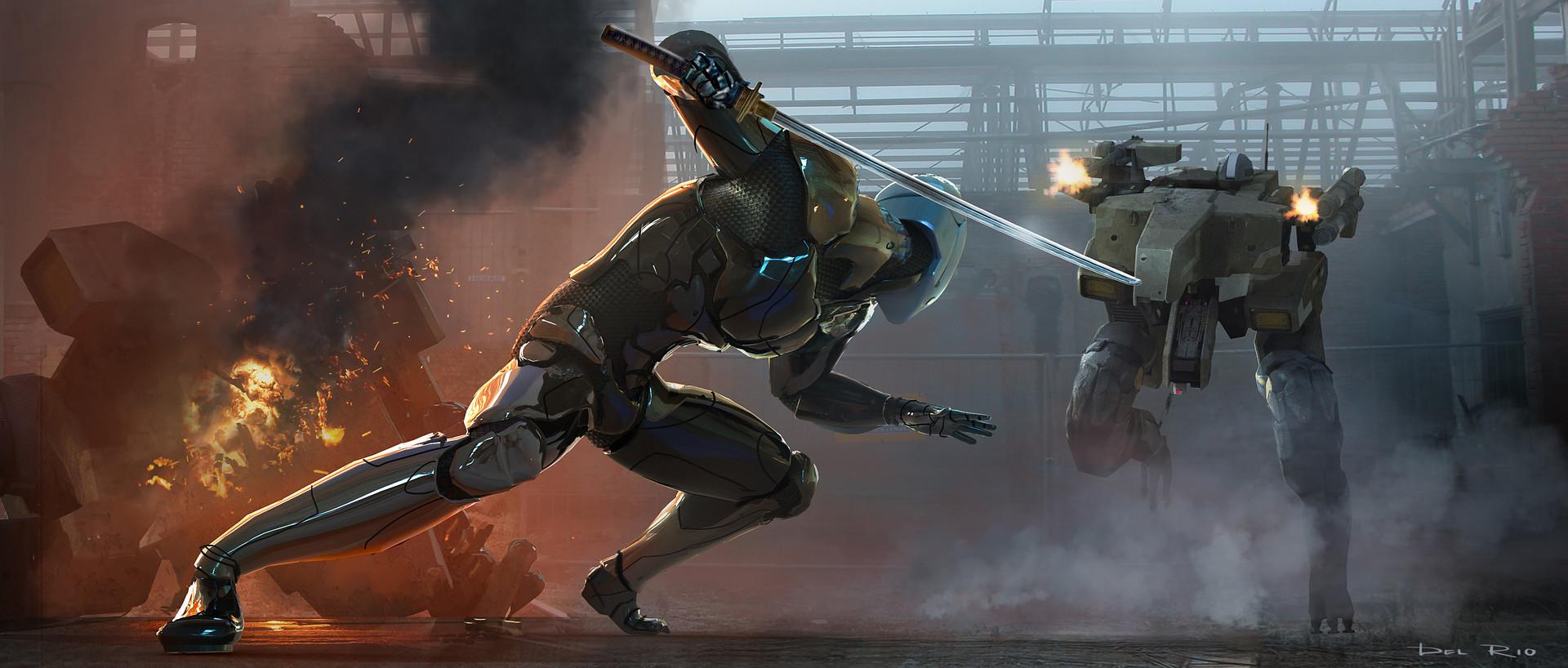 Eddie del rio scene 04 cyborg ninja
