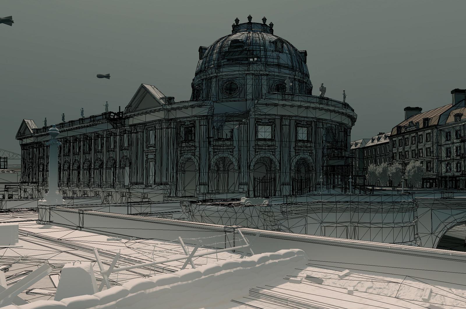 Sniper Elite V2 (2012) Level 4   Kaiser-Friedrich Museum