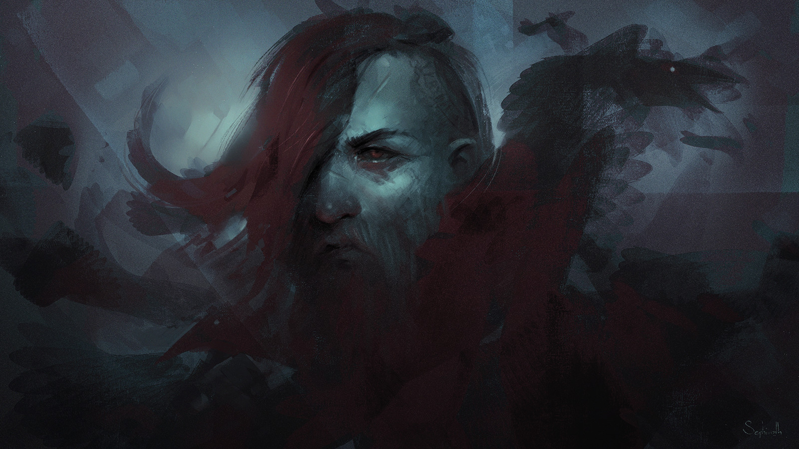 Sephiroth art viking 1600