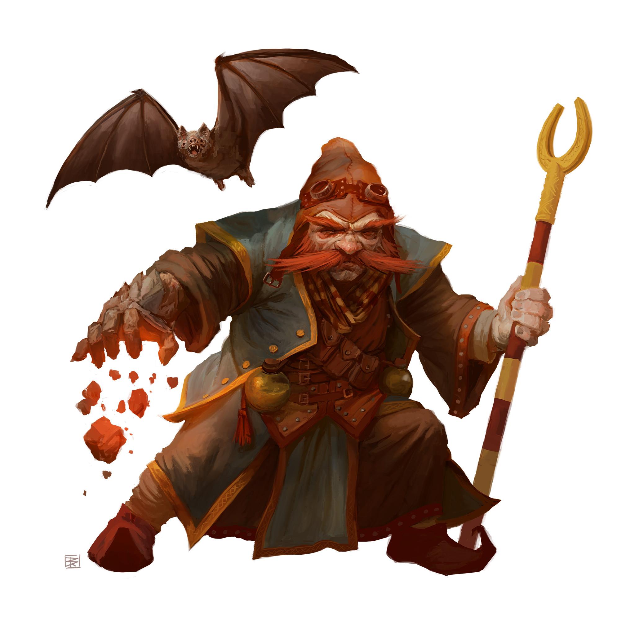 Cave Wizard: Dwarf Evoker