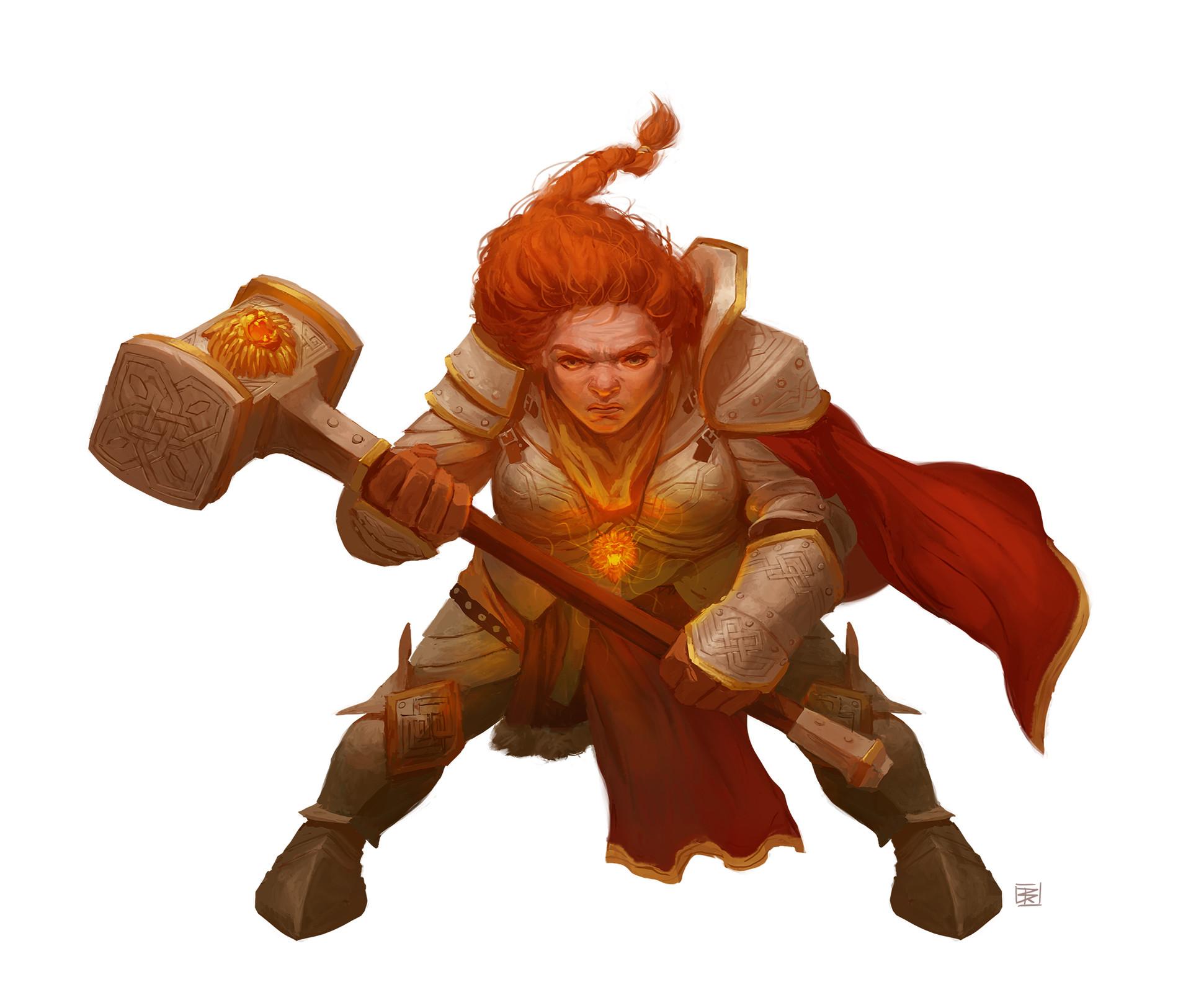 Deep Marshal: Dwarf Abjurer