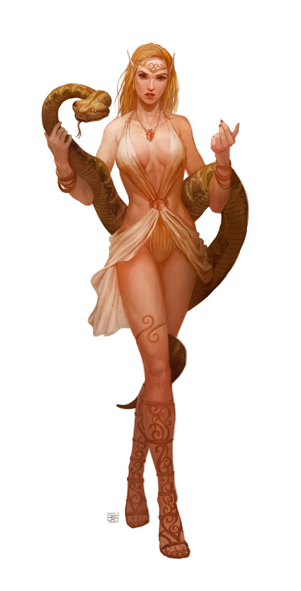 Seductive Enchanter: Elf Enchanter