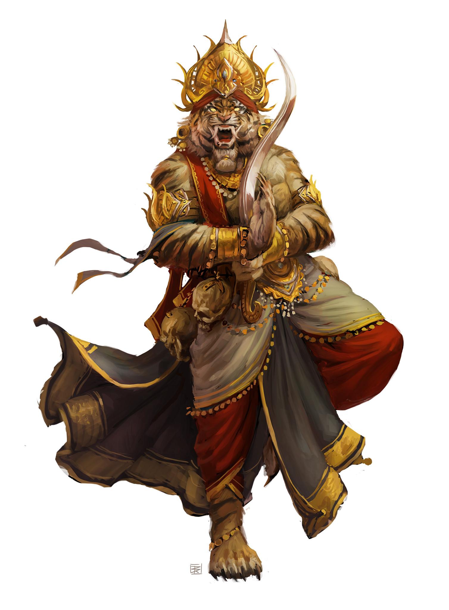 Mythic Rakshasa