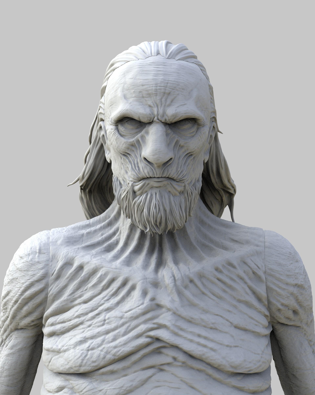 Brodie perkins whitewalker face