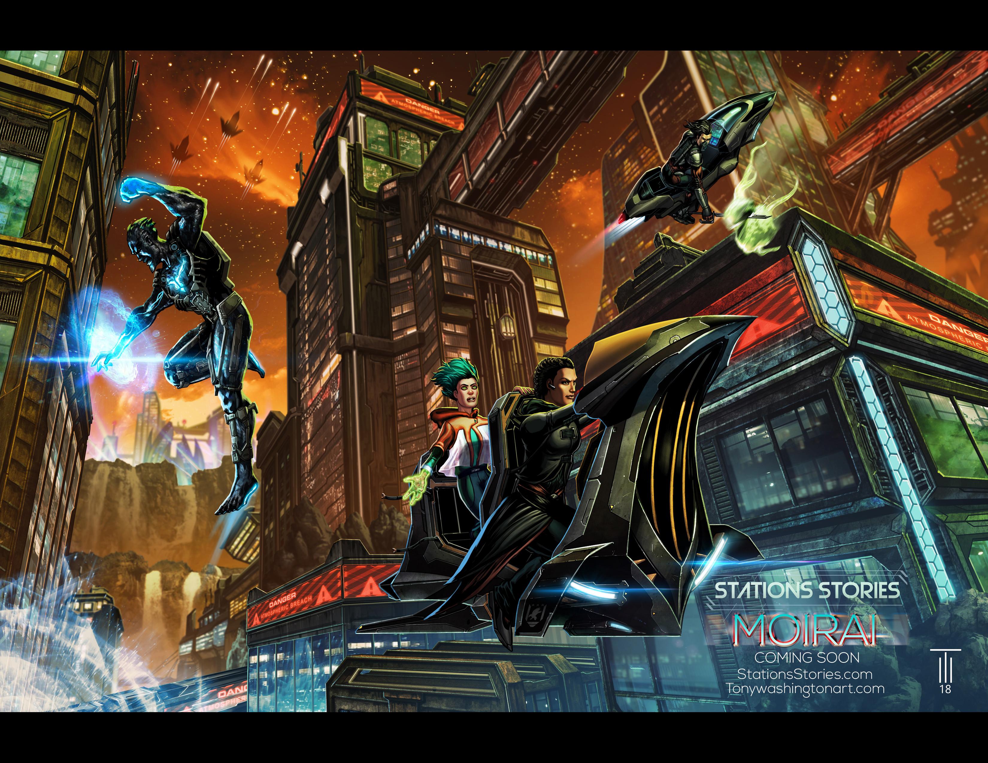 San Diego Comic Con Promo Poster (Table FF-22 Artist Alley)