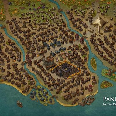 Timothy klanderud panezio town map