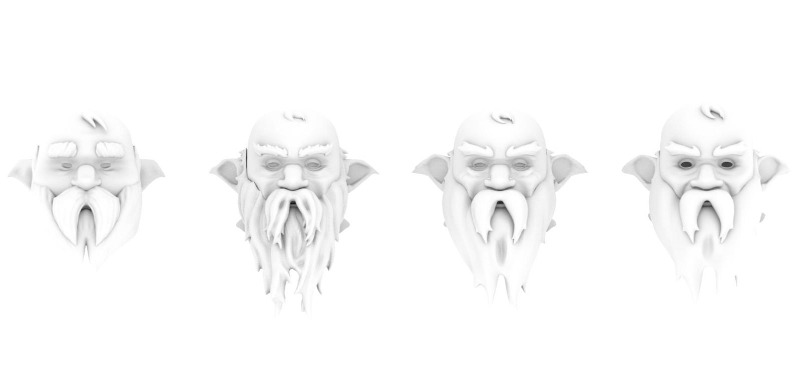 Beard Sculpt Test for The Tinkerer