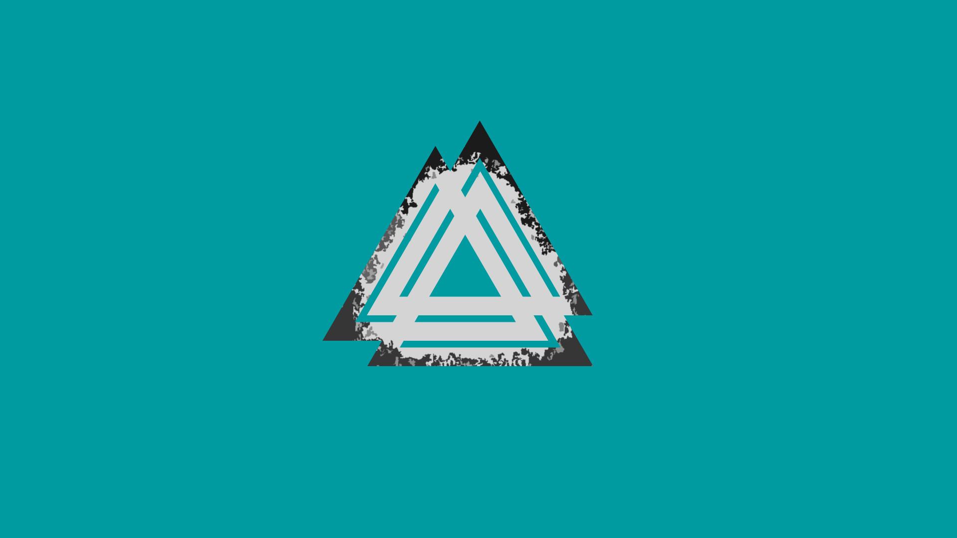 Valknut Alpha Litz 3 Triangle Viking