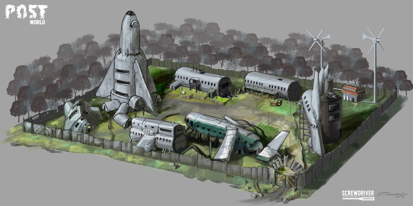Location - airplane graveyard