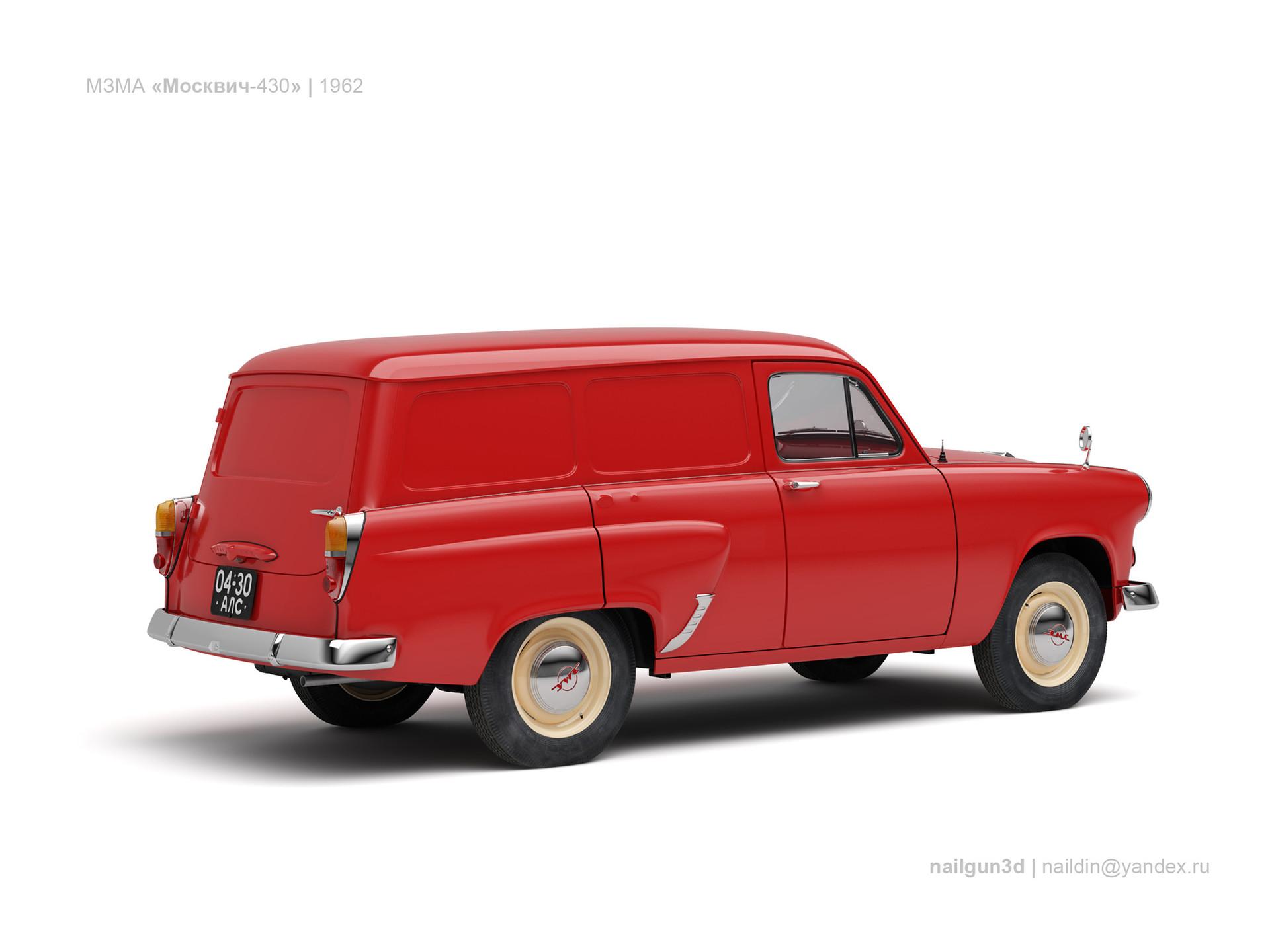 Nail khusnutdinov ussr moskvich 430 1962 1