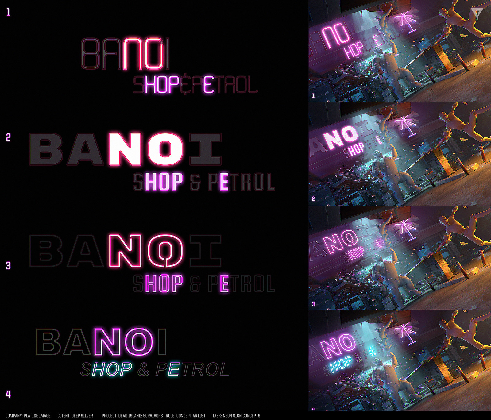 Neon sign concepts