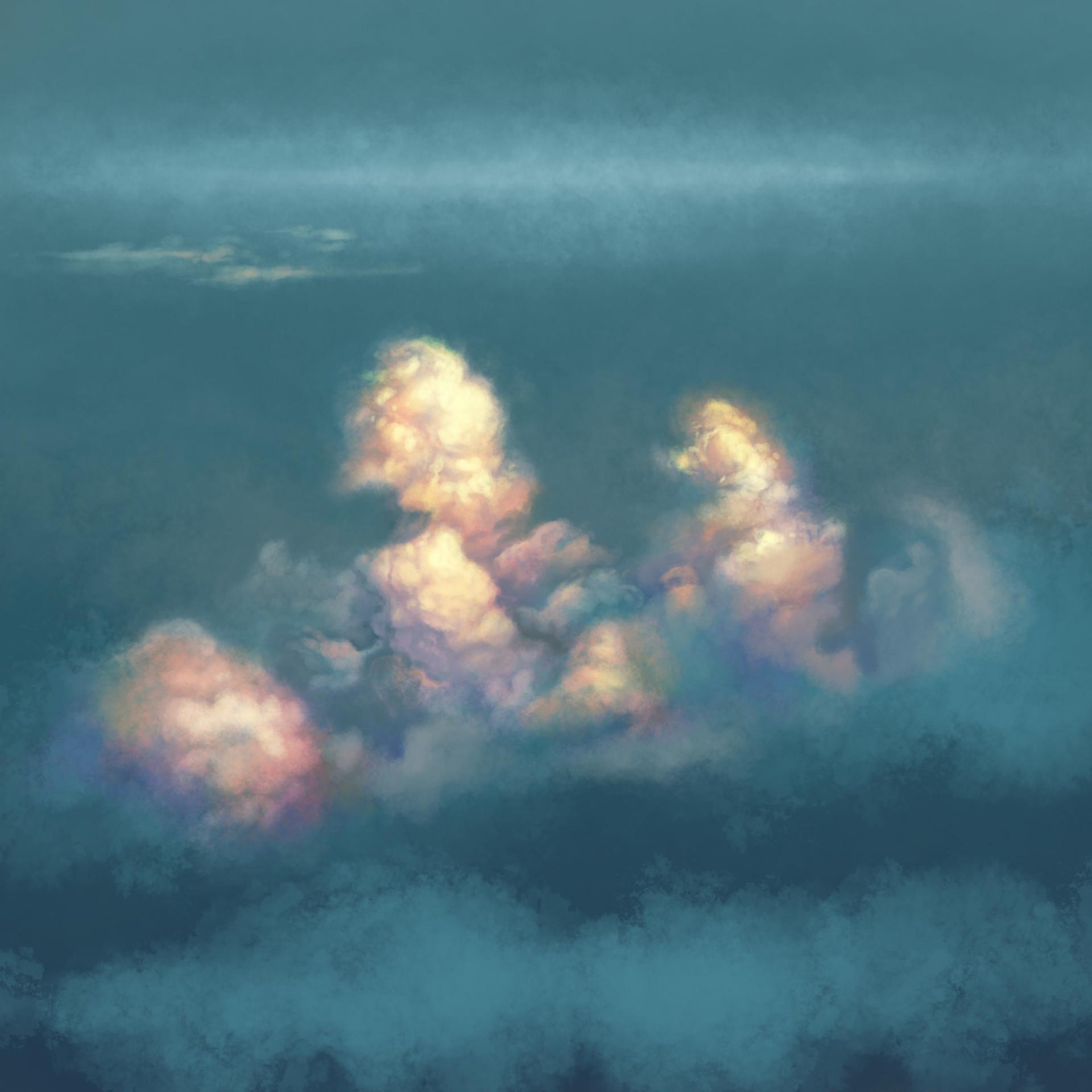 Allen white cloudstudy1