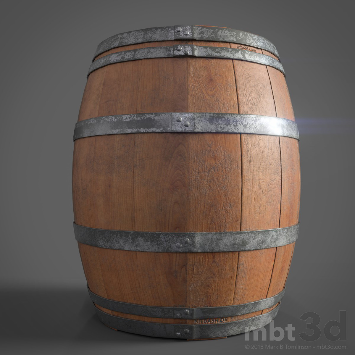 Wine Barrel Front