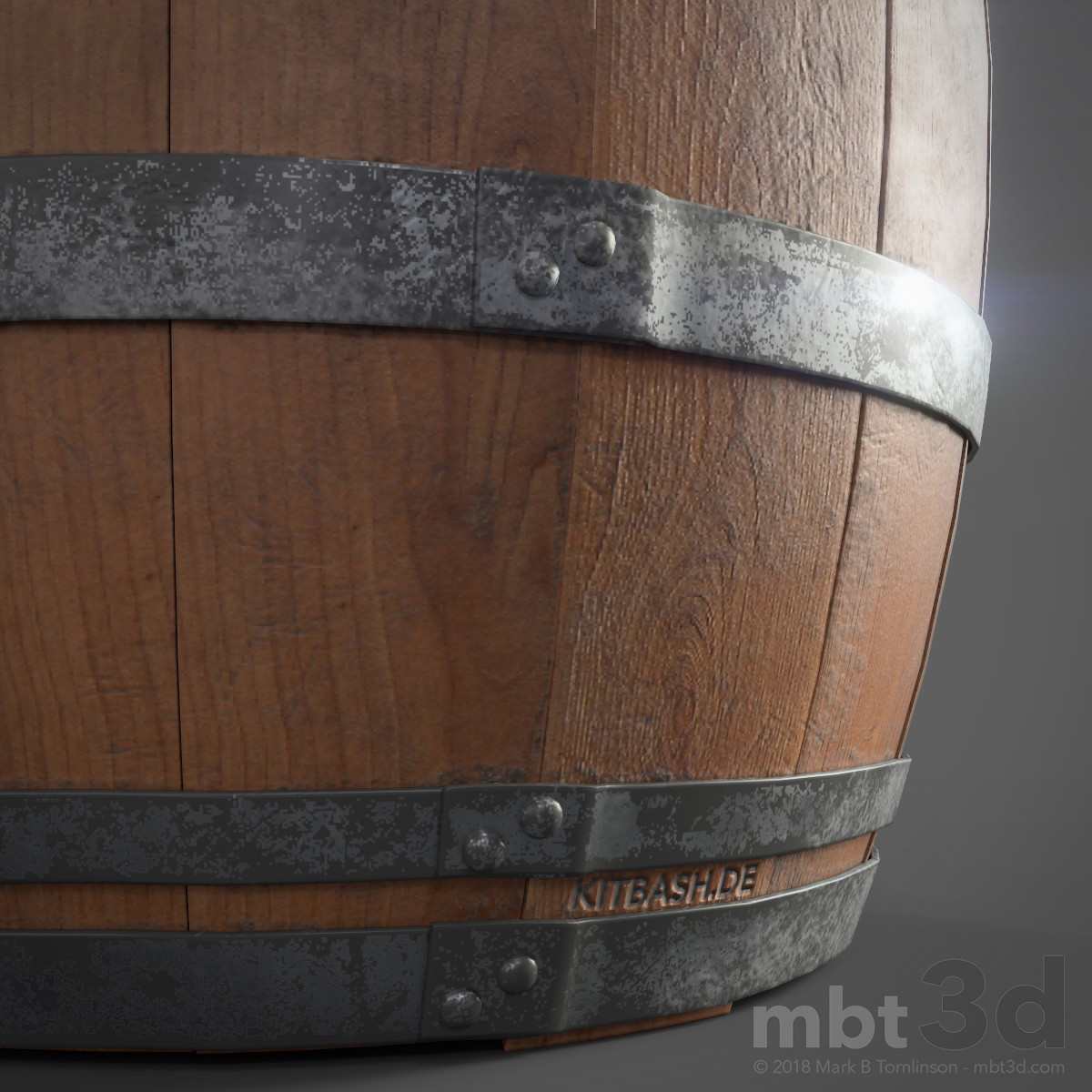 Wine Barrel Bottom Bans