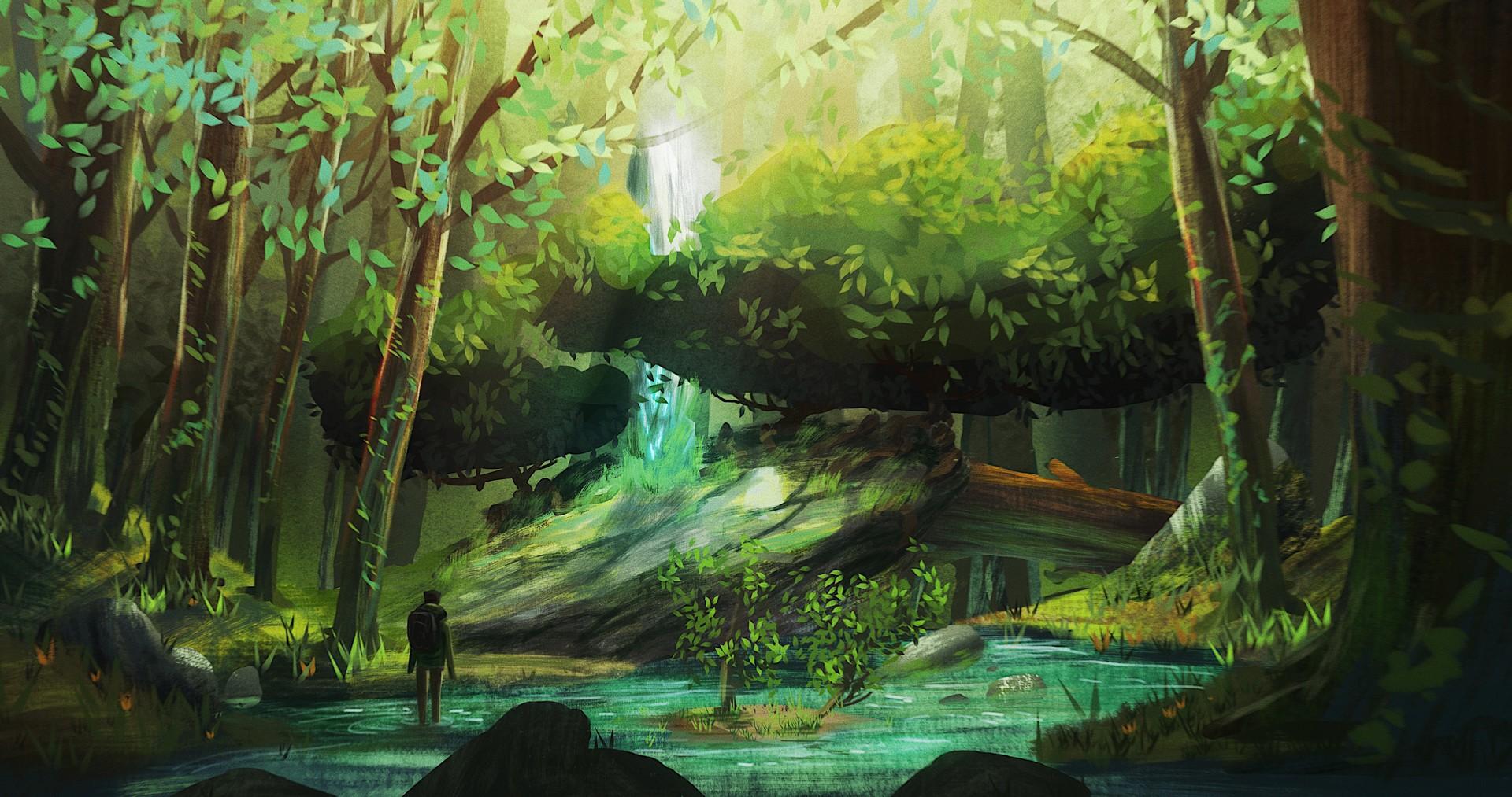 Concept Art Forest Environment