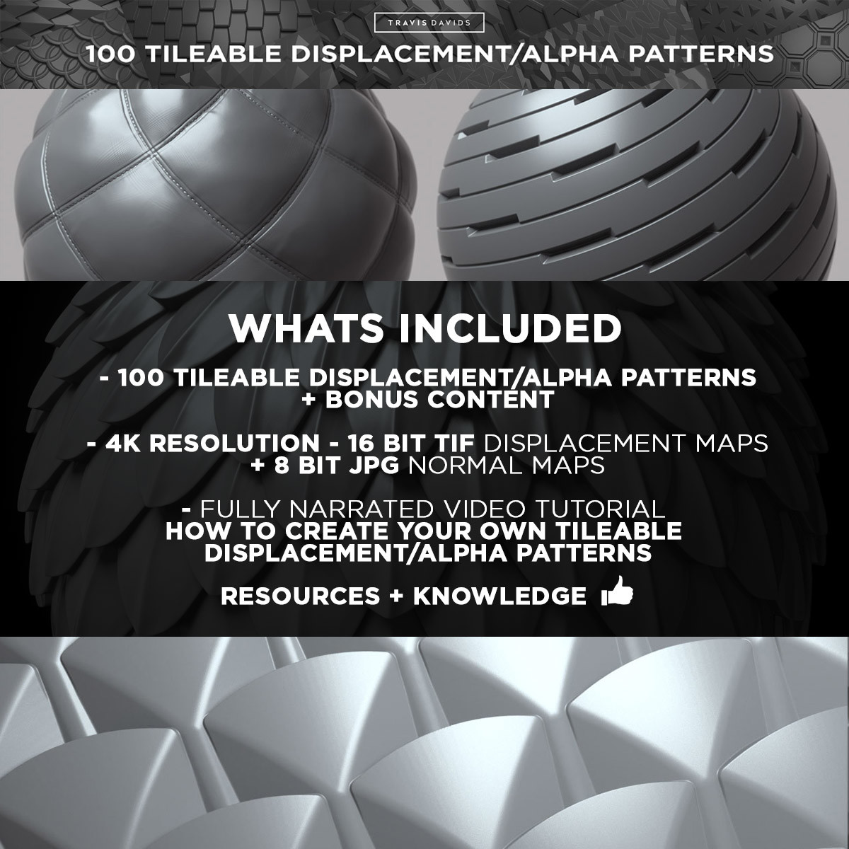 Travis davids 100 tileable displacement patterns preview 10