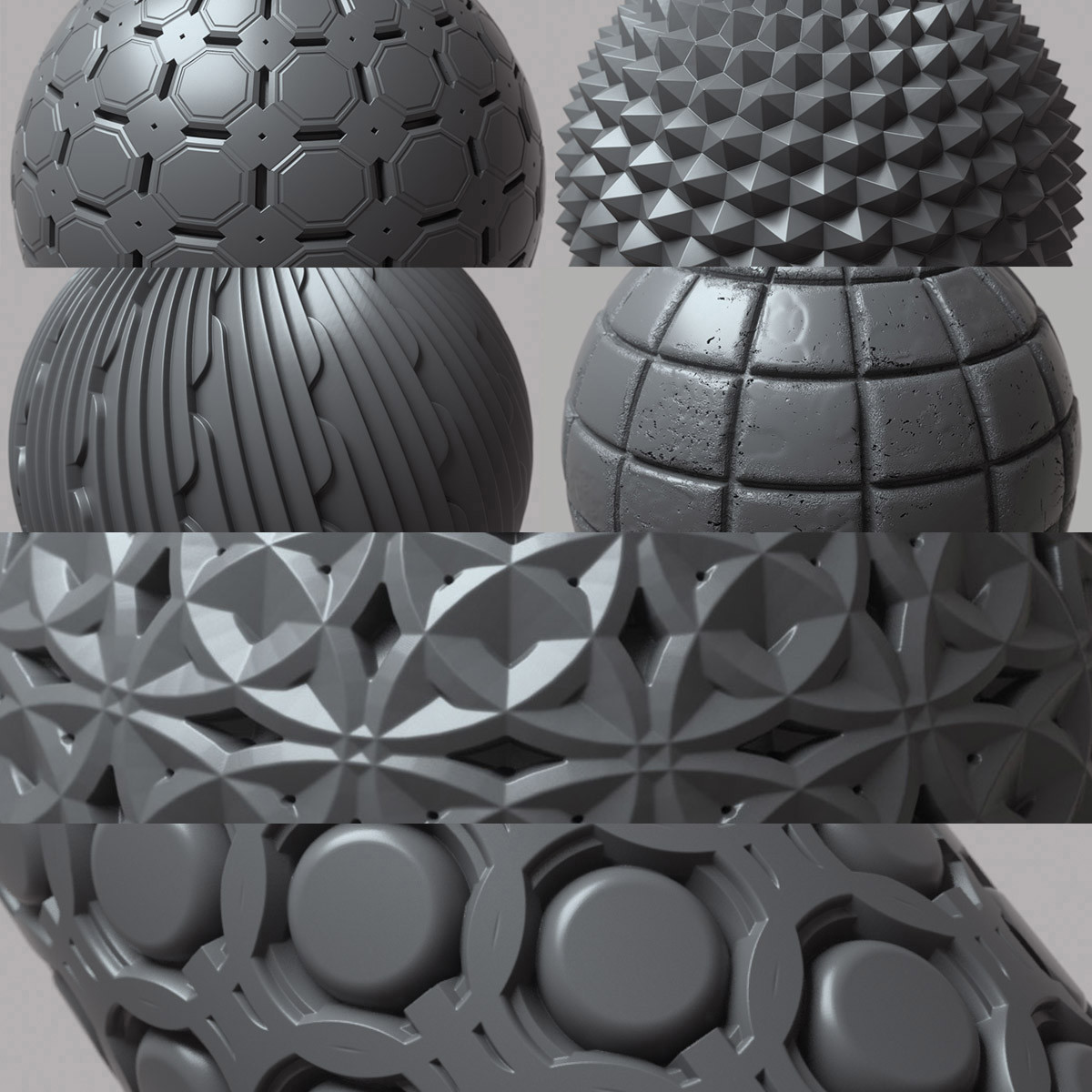 Travis davids 100 tileable displacement patterns preview 8