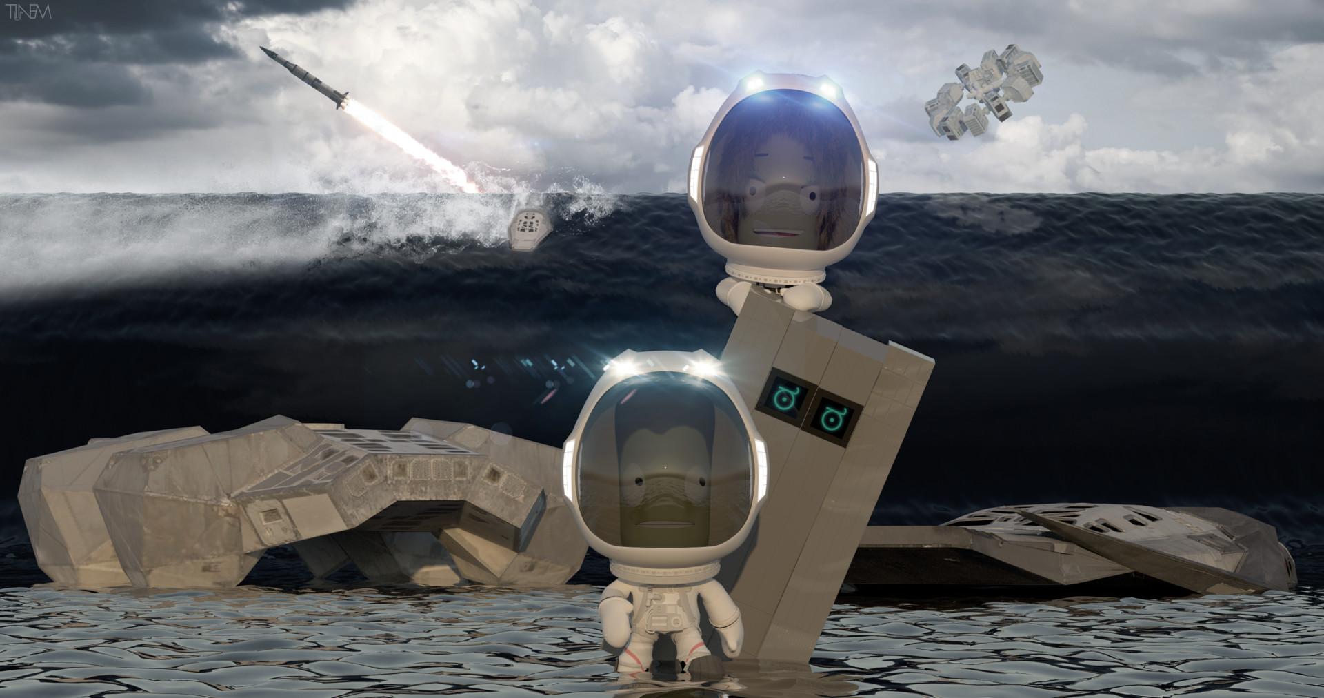 interstellar ranger spacecraft design - HD1920×1013
