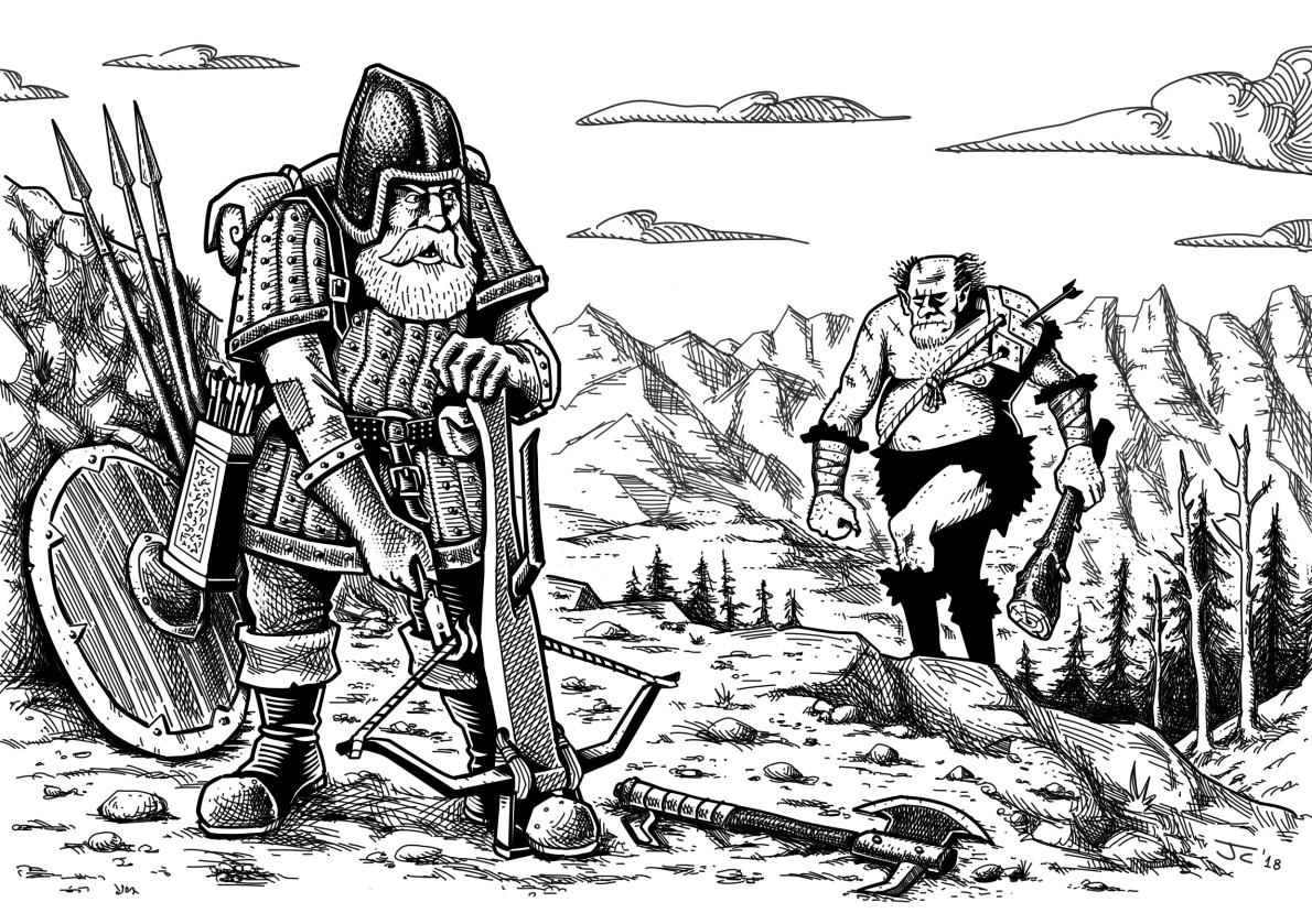 John ciarfuglia heavy crossbow144 by john ciarfuglia