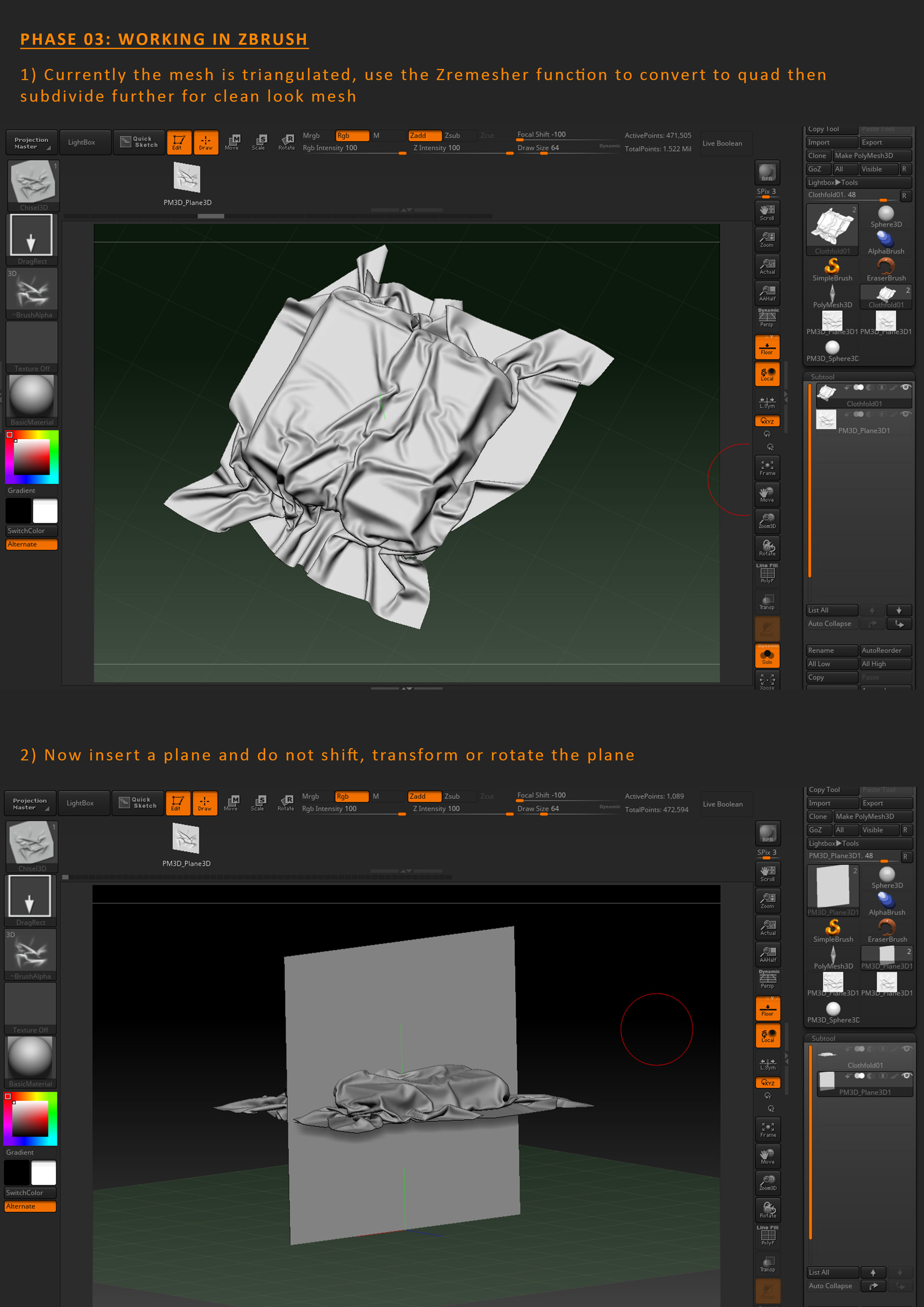 ArtStation - Workflow: Custom Fold with Marvelous Designer