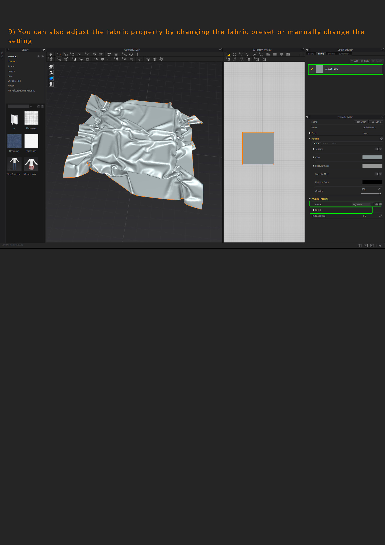 ArtStation - Workflow: Custom Fold with Marvelous Designer to Zbrush