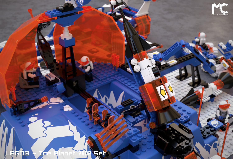 LEGO - Ice Planet 2002 Set (Octane Render).