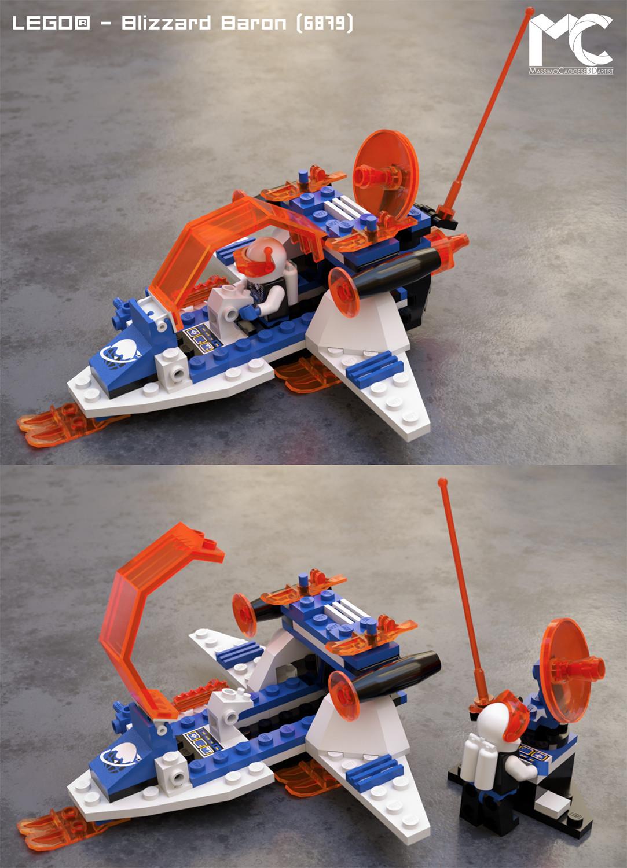 LEGO - Blizzard Baron (Octane Render).