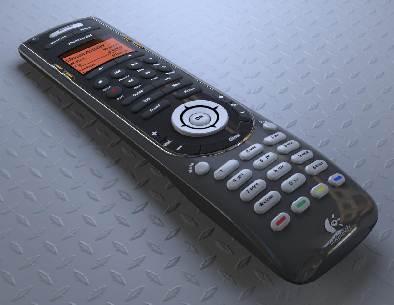 ArtStation - Logitech Harmony 555 Universal Remote Control